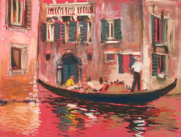 Венеция пастель картина