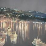 croatia-painting-Volosko-Night-50х65-2007