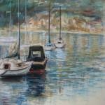 croatia-painting-yahts-Volosko-50х65-2007
