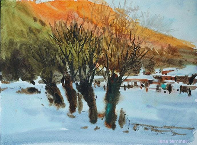Зима в Болгарии 2015