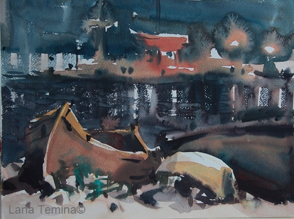 watercolor_lana_temina_nesebar