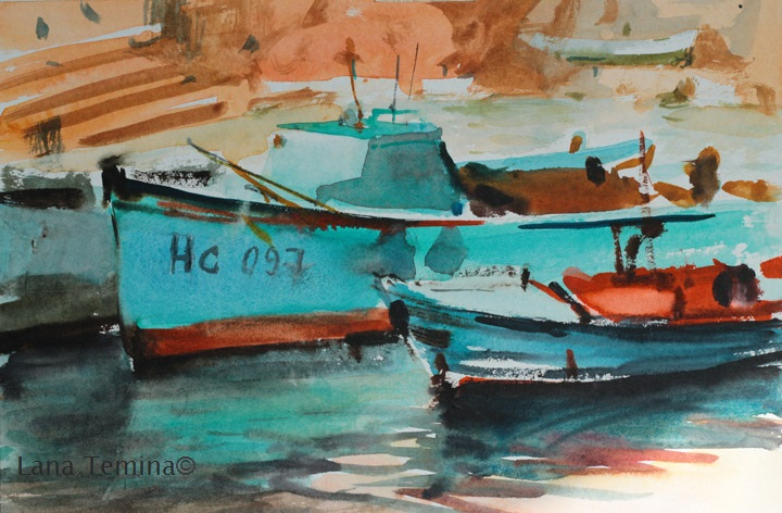 nesebar-watercolor-lana-temina