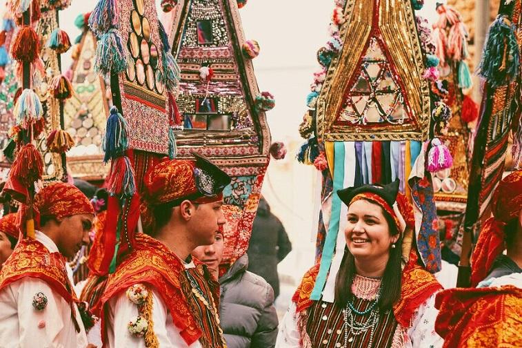 болгарские костюмы кукеры