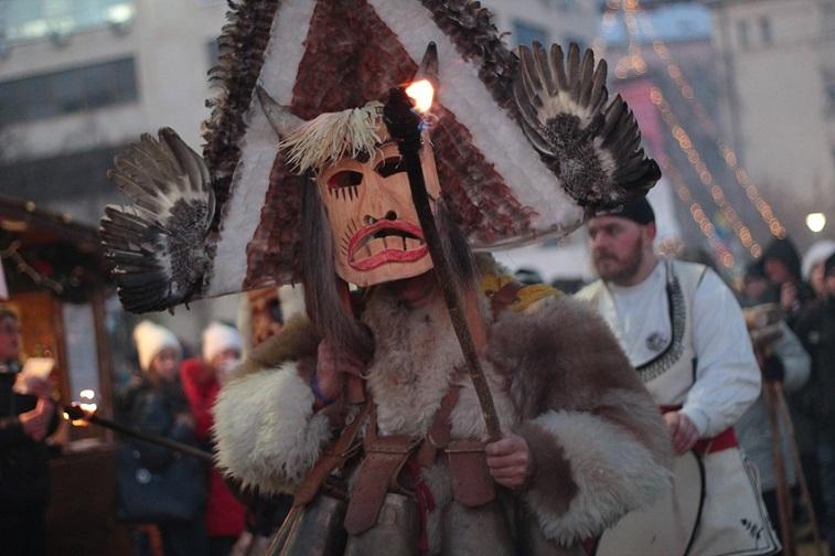 факельное шествие в пернике