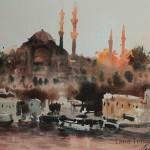 закат стамбул султанахмет