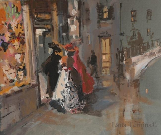 ночь в венеции маски